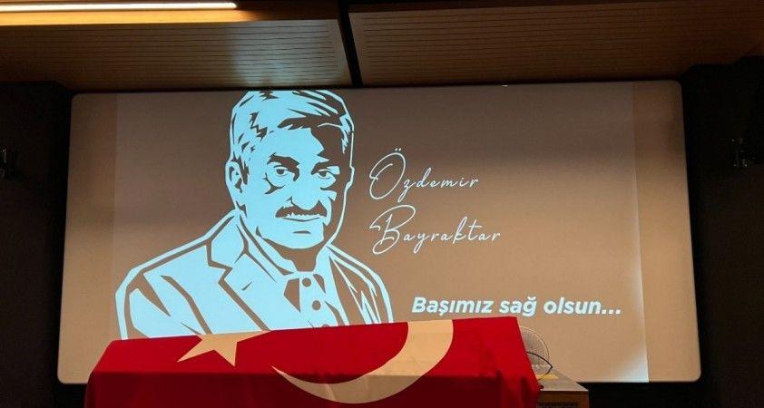 Baykar Yönetim Kurulu Başkanı Özdemir Bayraktar, son yolculuğuna uğurlanıyor