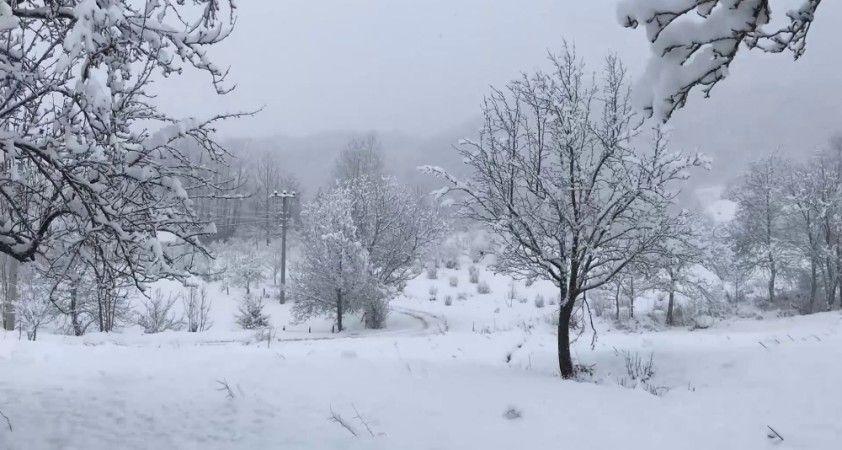 Yurttan kar manzaraları