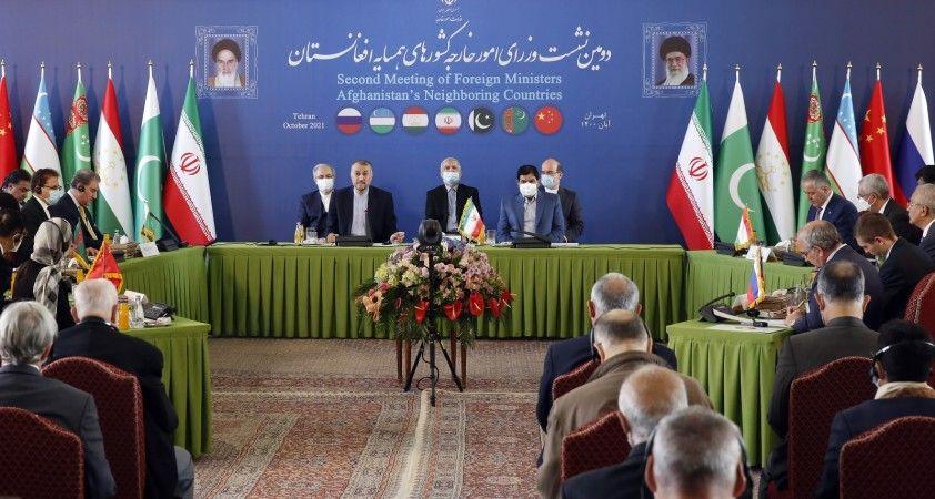 Afganistan'a komşu ülkeler Tahran'da toplandı