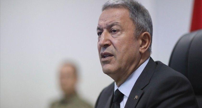 Milli Savunma Bakanı Akar, Azerbaycan Savunma Bakan Yardımcısı'nı kabul etti