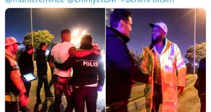 Nouma'dan anlamlı Türk Polisi paylaşımı!