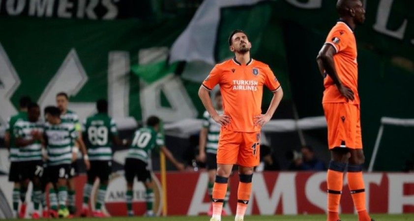 Başakşehir deplasmanda Sporting Lizbon'a 3-1 kaybetti