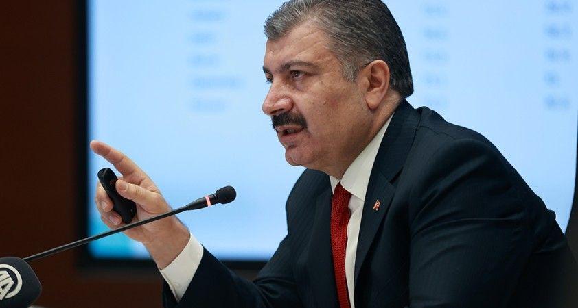 """Sağlık Bakanı Koca: """"Adıyaman risk haritasında Mavi oldu"""""""