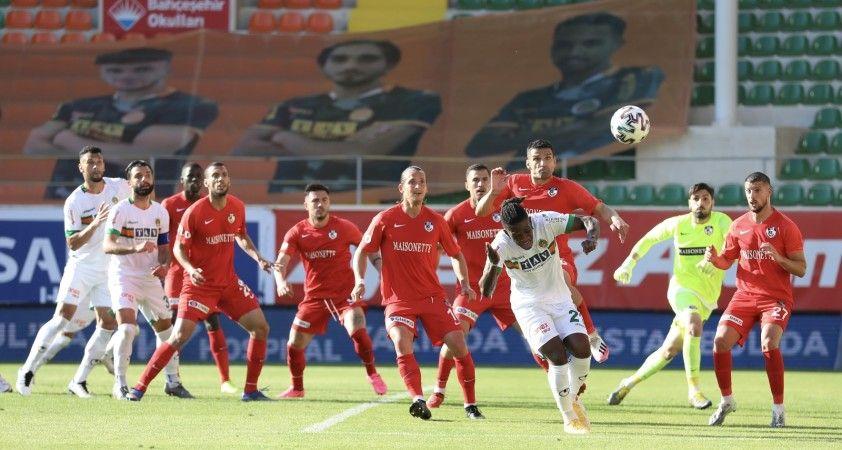 Süper Lig: Aytemiz Alanyaspor: 3 - Gaziantep FK: 2 (Maç sonucu)