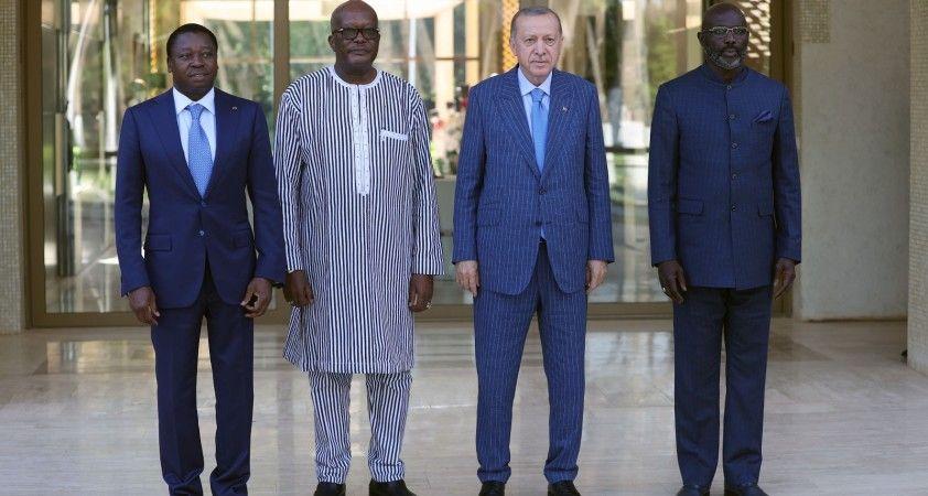 Türkiye, Togo, Burkina Faso ve Liberya'dan ortak bildiri
