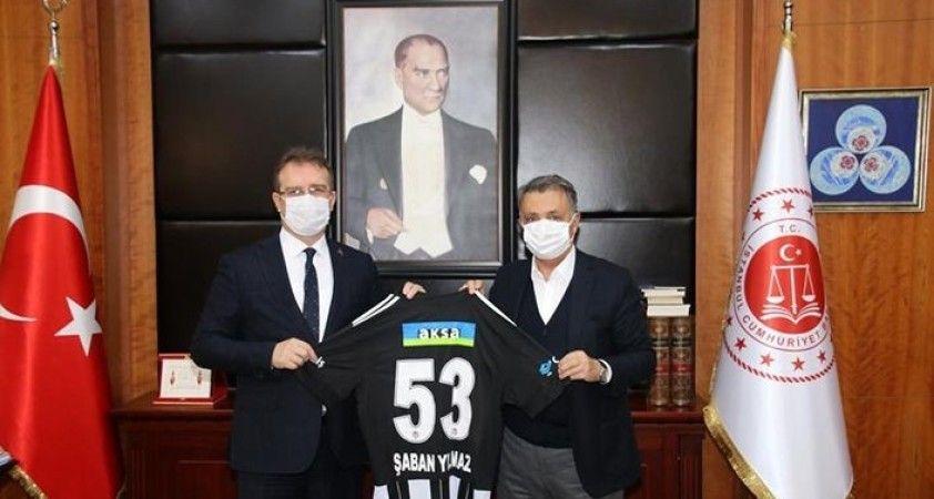 Çebi'den Savcı Yılmaz'a ziyaret