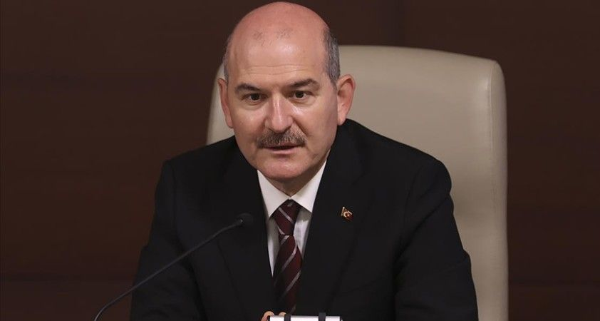 İçişleri Bakanı Soylu: Virüsten etkilenmeyen tek faaliyet terörle mücadeledir