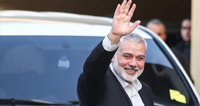 Hamas lideri Heniyye, Katar Dışişleri Bakanı'yla Filistin'deki gelişmeleri görüştü