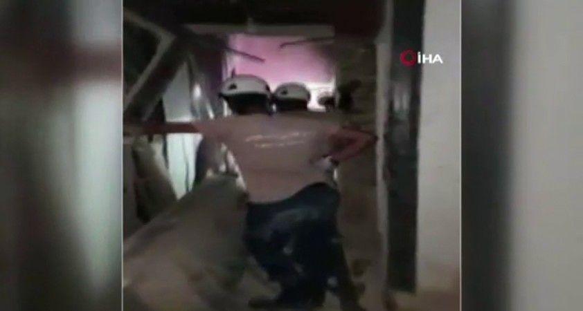Beyrut'ta enkaz altından bir kişi kurtarıldı