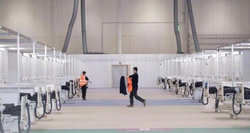 Londra'daki fuar merkezi hastaneye dönüştürüldü