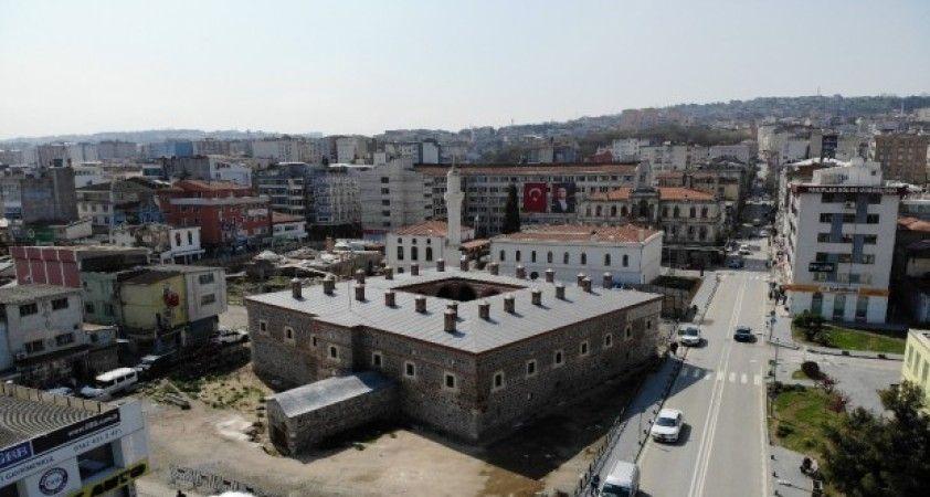 511 yıllık 'Taşhan' Büyükşehir Belediyesi'ne devredildi