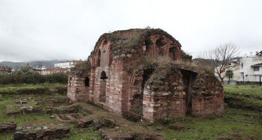 Aziz Aberkios adına yapılan kilise turizme açılmayı bekliyor