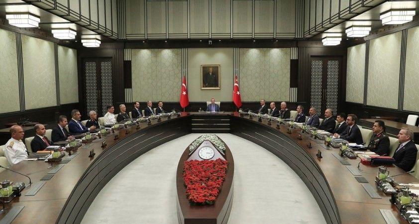 Milli Güvenlik Kurulu sonrası kritik açıklamalar
