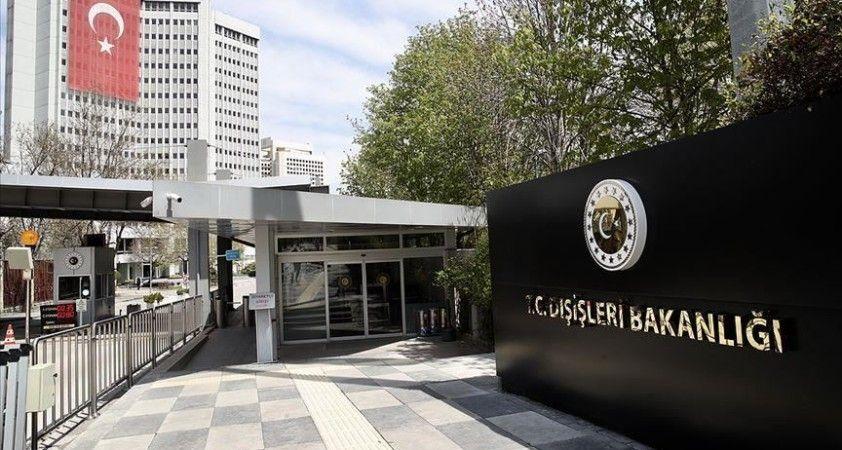 Dışişleri Bakanlığı: 'Büyükelçilere, bu hadsiz açıklamanın kabul edilemez olduğu iletildi'