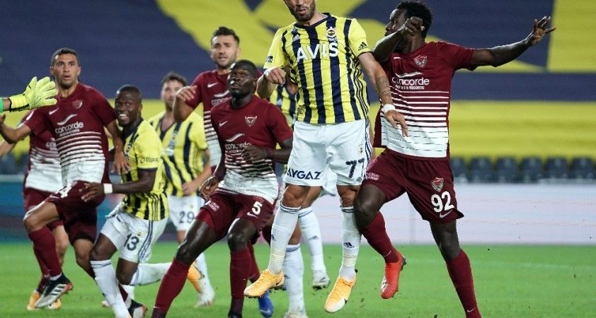 Süper Lig: Fenerbahçe: 0 - A.Hatayspor: 0 (Maç sonucu)