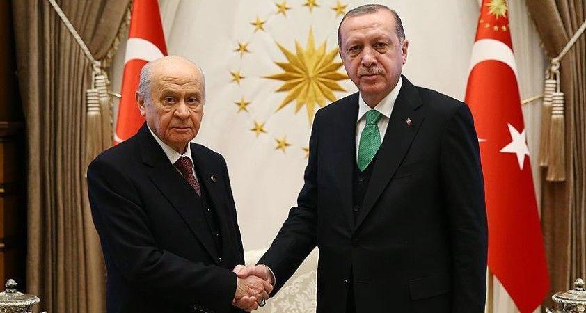 Erdoğan Bahçeli ile görüşecek