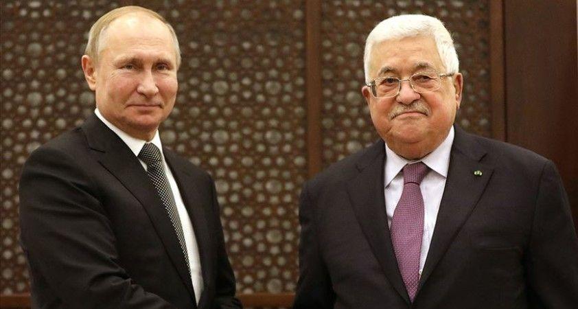 Abbas Rusya Devlet Başkanı Putin ile İsrail'in 'ilhak' planını görüştü