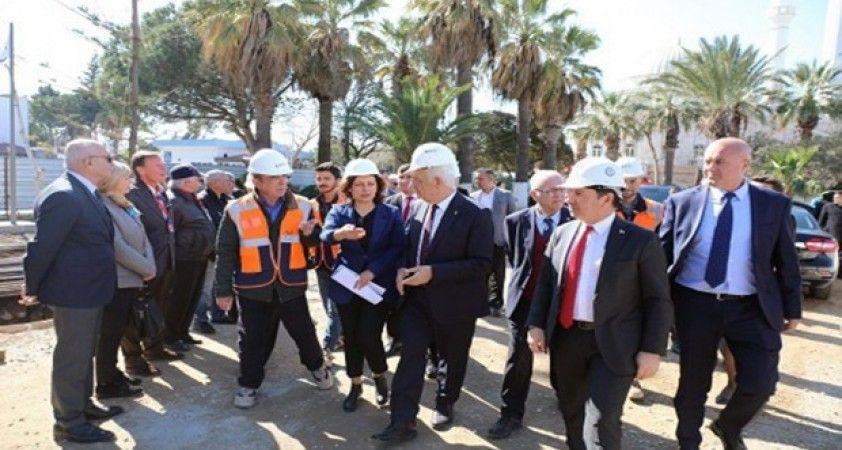 Başkanlardan Turgutreis Yaşam Merkezi'nde inceleme