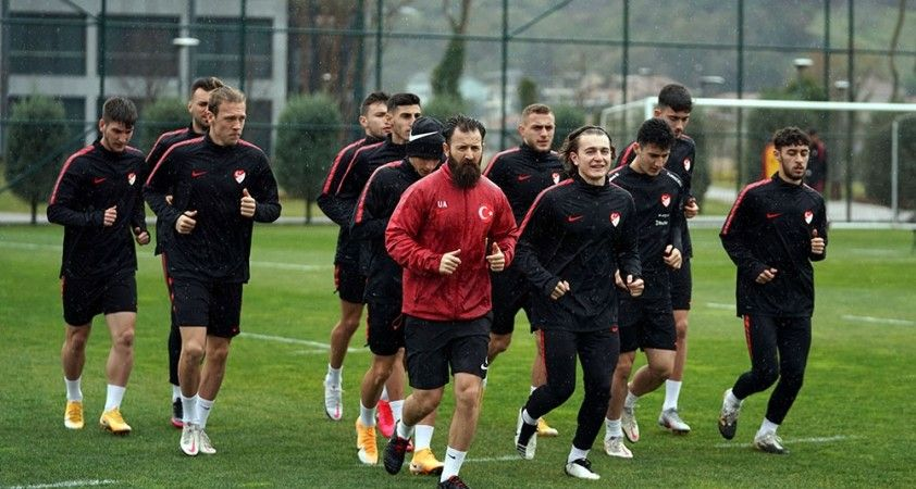 Ümit Milli Futbol Takımı hazırlıklarını sürdürdü