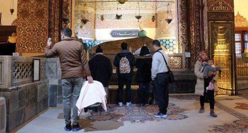 Mevlana Müzesi 2019'da ziyaretçi rekoru kırdı