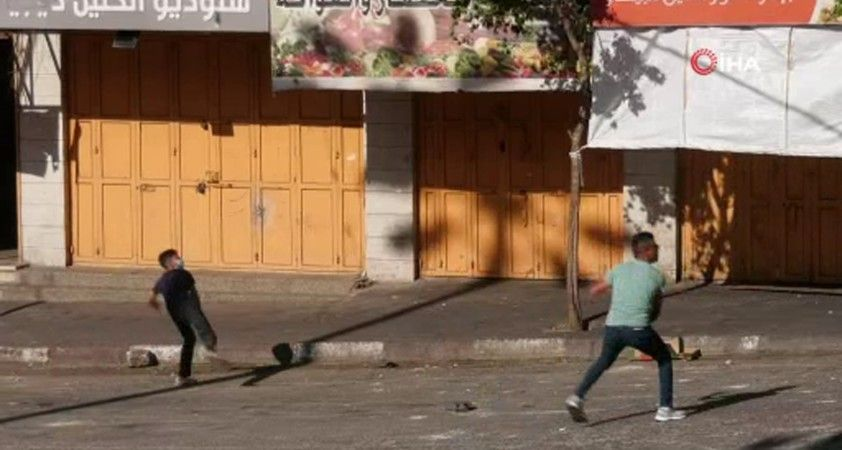 El Halil'de Filistinliler ile İsrail güçleri arasında çatışma