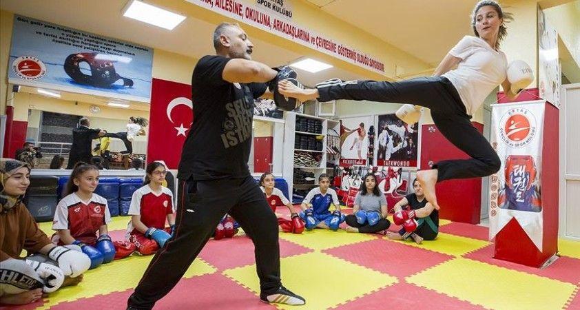 Diyarbakır'ın 'altın kızlarından' virüse karşı spor çağrısı