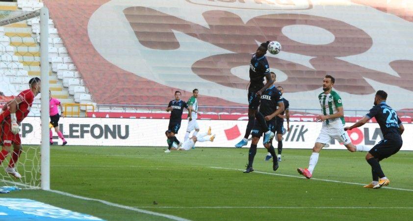Süper Lig: Konyaspor: 1 - Trabzonspor: 1 (Maç sonucu)