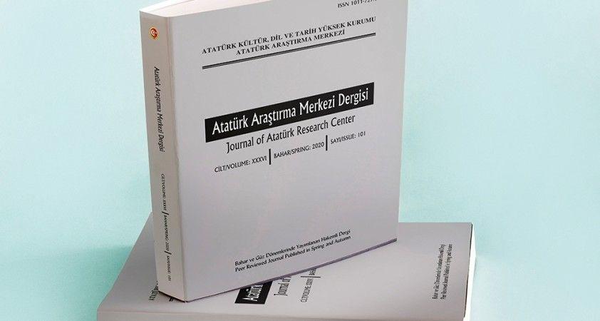 """""""Atatürk Araştırma Merkezi Dergisi""""nin 101. sayısı yayımlandı"""