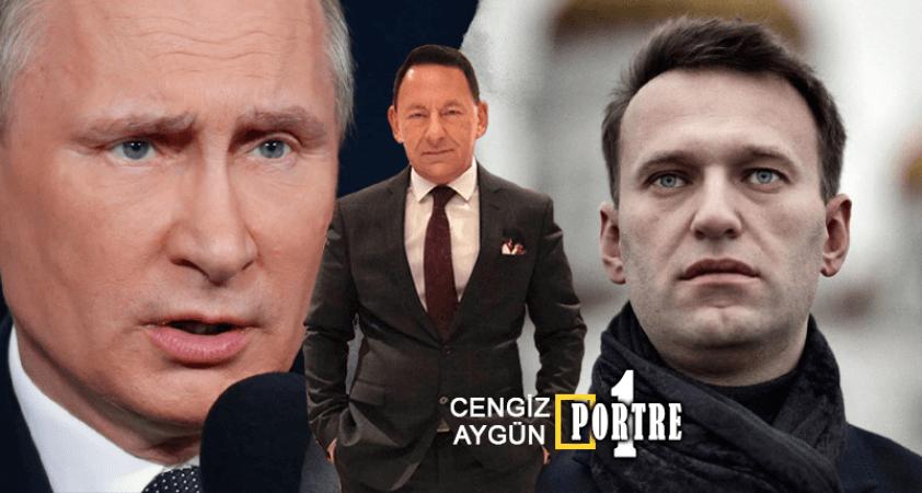 Navalny denen adam Putin'in ezberini bozdu/bozacak!..