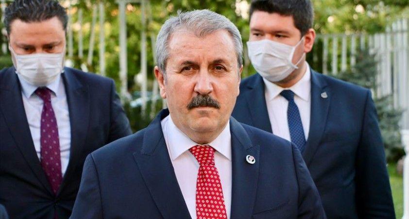 BBP Genel Başkanı Destici'den TTB'ye eleştiri: Herkes fikrini söylemeli ama fırsatçılık yapmamalı