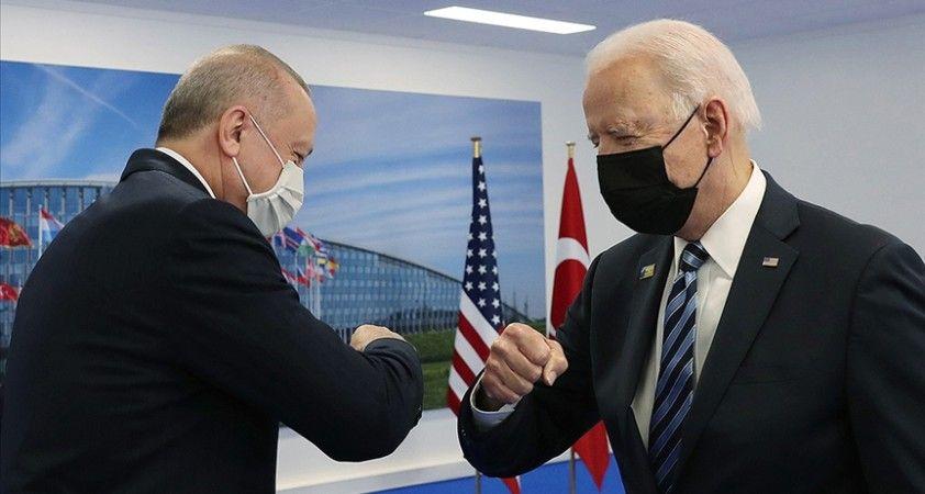 ABD Başkanı Biden: Cumhurbaşkanı Erdoğan ile pozitif ve verimli bir toplantı yaptık