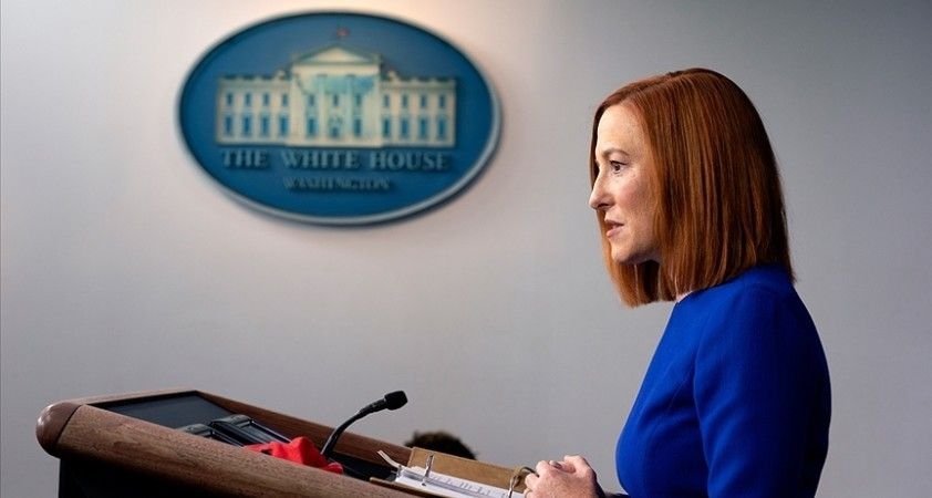 Beyaz Saray Sözcüsü Psaki: ABD'nin Çin'e yeni bir yaklaşım benimsemesi gerekiyor