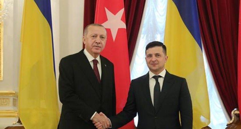 Zelenskiy'den Erdoğan'a teşekkür