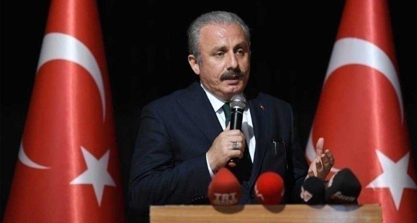 """TBMM Başkanı Şentop: """"15 Temmuz hain darbe girişiminde davasında adalet tecelli etmiştir"""""""