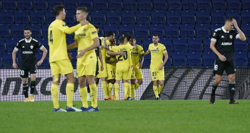 UEFA Avrupa Ligi: Karabağ : 1 - Villarreal: 3