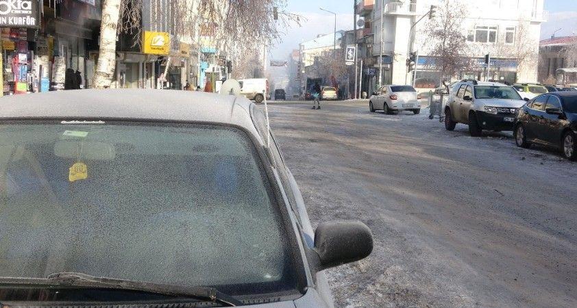 Ardahan'da Sibirya soğukları: Göle eksi 29 derece