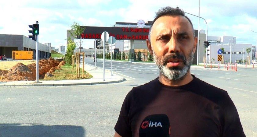 Ünlü oyuncu Umut Oğuz şehir hastanesini övdü