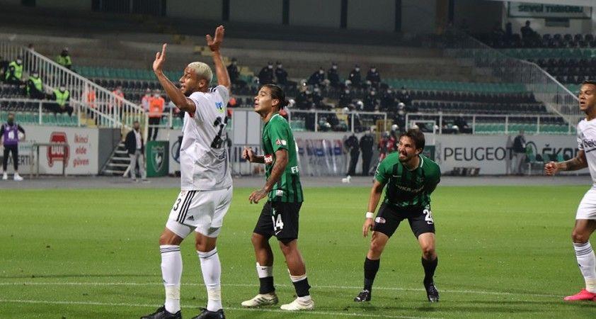 Süper Lig: Y. Denizlispor: 0 - Beşiktaş: 2 (İlk yarı)