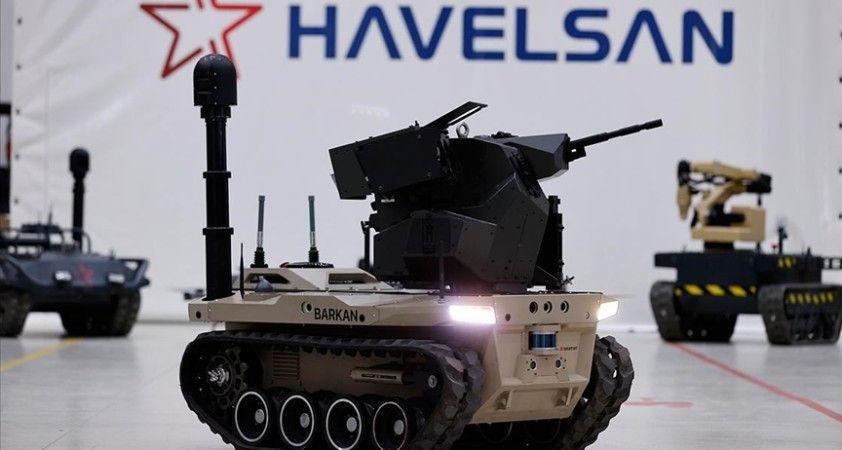 Dijital birliğin robot askeri Barkan göreve hazırlanıyor