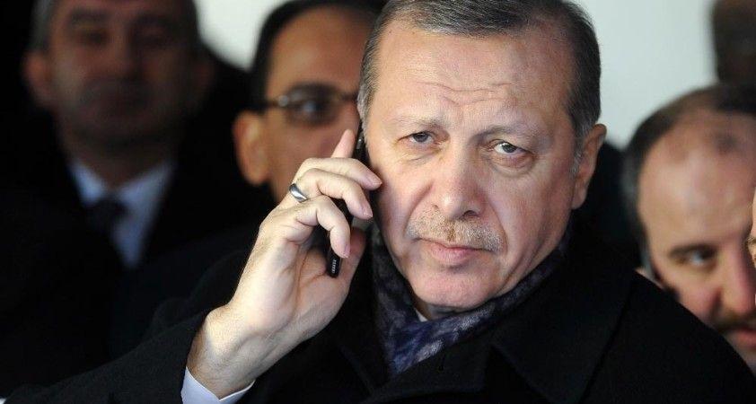 Cumhurbaşkanı Erdoğan, Kuveyt Emiri ile telefonda görüştü