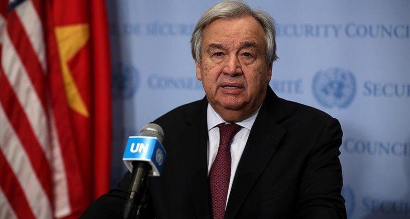 BM Genel Sekreteri Guterres: Kıbrıs konusunda ilgili tarafları en yakın tarihte toplantıya davet edeceğim