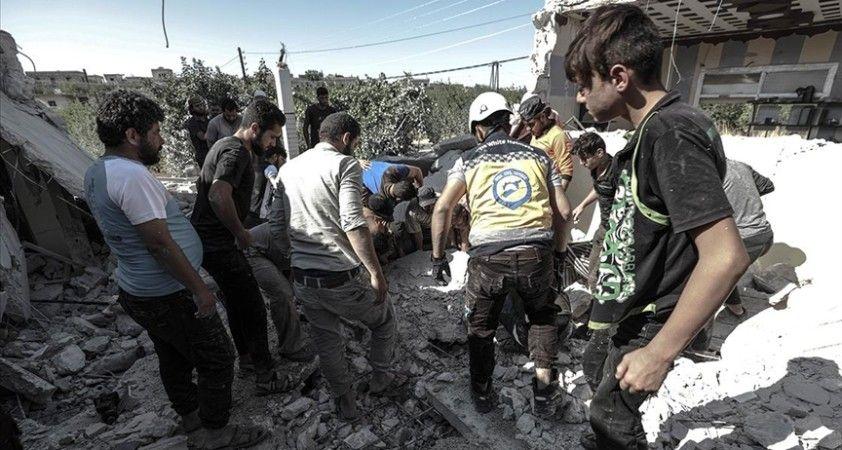 Esed rejiminin Halep kırsalındaki kampa saldırısında 1 çocuk öldü, 10 sivil yaralandı
