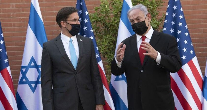 ABD Savunma Bakanı Esper İsrail'de