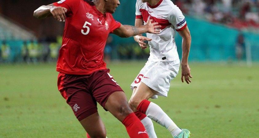 EURO 2020 Avrupa Şampiyonası: İsviçre: 2 - Türkiye: 0 (İlk yarı)