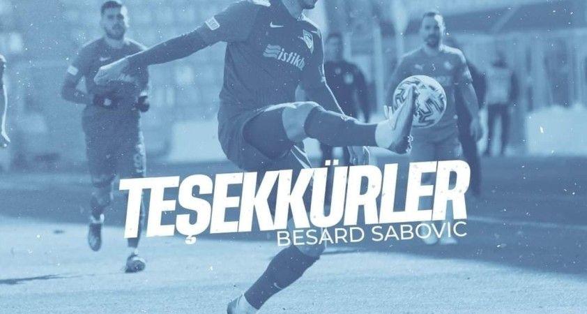 Kayserisporlu Sabovic Rus ekibi Khimki'ye transfer oldu