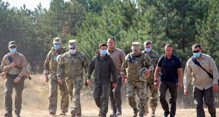 Ukrayna'da 'Ortak Kuvvetler 2020' tatbikatında Türk İHA'ları da yer aldı