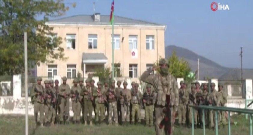 işgalden kurtarılan Zengilan şehrine Azerbaycan bayrağı dikildi