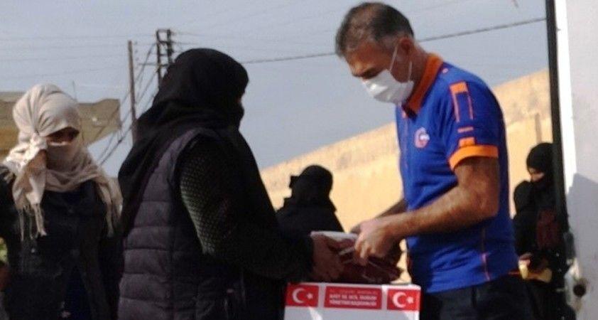 Barış Pınar'ında insani yardımlar sürüyor