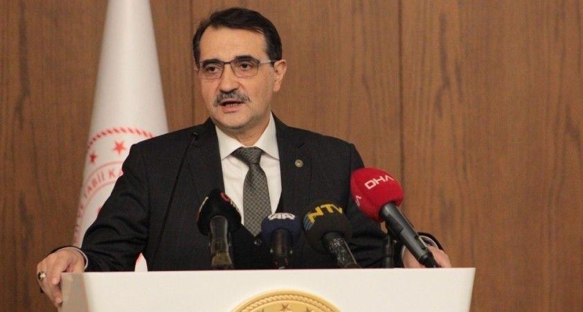 Bakan Dönmez, Fatih Sondaj Gemisi'nin güzergahını paylaştı