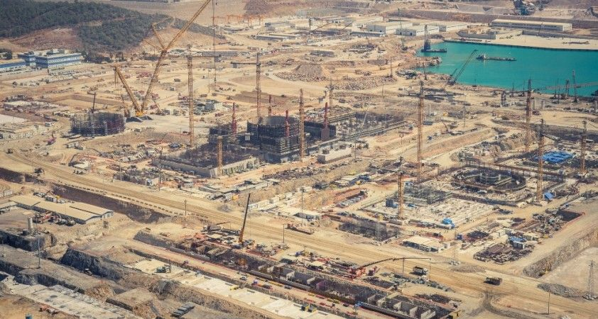 Akkuyu NGS'nin birinci ünitesine ait reaktörün kapağı üretildi